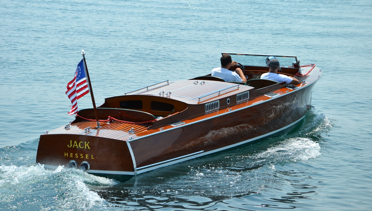 Chris Craft Triple Cockpit